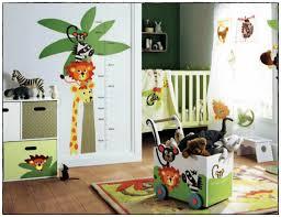 décoration jungle chambre bébé deco chambre bebe jungle idées de décoration à la maison