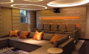 Home Cinema Interior Design Incredible Home Cinema Lighting John Cullen Lighting