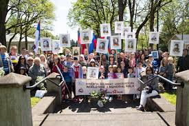 immortal regiment marches across 18 u s cities russia beyond