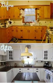 how to clean yellowed white kitchen cabinets country kitchen renovation simplymaggie