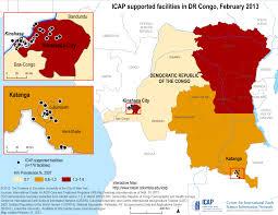 Republic Of Congo Map Icap Data Dissemination Democratic Republic Of Congo
