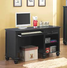 bedroom office desk decorating comfortable with black for very