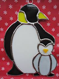 49 best stain glass birds penguins images on stained