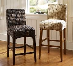 woven dining room chairs dining room comfy pier one counter stools making remarkable
