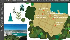 How To Make A Map The Joy Of Illustrated Maps In The Era Of Google Earth U2013 Smashing
