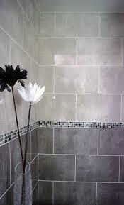 Tile Bathroom Walls by Best 25 Grey Bathroom Tiles Ideas On Pinterest Grey Large