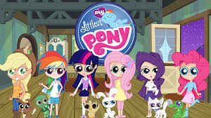my little pony equestria girls and pets transforms into littlest