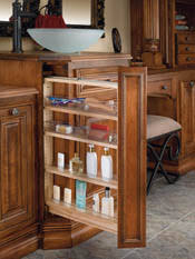 Bathroom Vanity Storage Organization Storage Solutions For Kitchens And Baths Cwp
