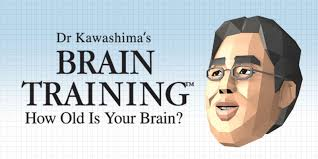 dr kawashima u0027s brain training how old is your brain nintendo