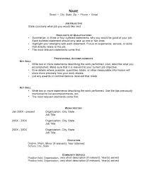 online resume format free resume builder no cost resume format