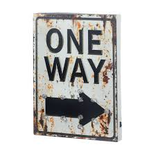 light up one way sign wholesale at koehler home decor