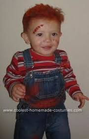 Bride Chucky Halloween Costumes Coolest Homemade Baby Chucky Bride Chucky Costume Chucky