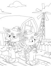 farmer coloring page handipoints