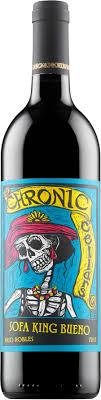 chronic cellars sofa king bueno chronic cellars sofa king bueno 2015 red wine alko