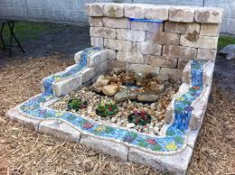 garden fountain inspiring backyard water feature small outdoor