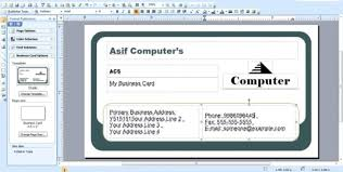 How To Create Business Cards In Word Business Card Templates Size Of Business Card Custom Business