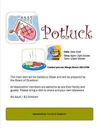 potluck sign up sheet template for excel pot luck ideas pinterest