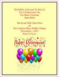 retirement announcement retirement announcement email sop exles