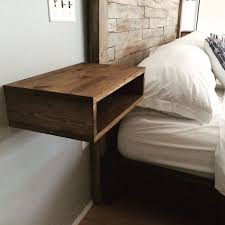 Woodworking Plans For Bedside Table by Best 25 Floating Nightstand Ideas On Pinterest Floating