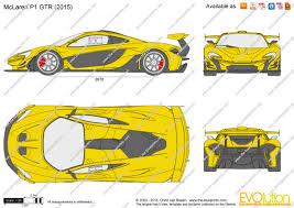 mclaren p1 drawing easy the blueprints com vector drawing mclaren p1 gtr