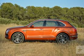 bentley orange 2017 bentley bentayga review digital trends