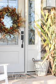 fall front porch the wood grain cottage simple decorating by idolza