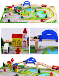 Making Wooden Toy Train Tracks by Compare Prices On Wooden Train Track Online Shopping Buy Low