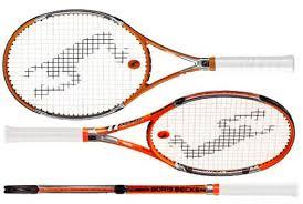 boris becker racquet