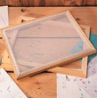 paper making frames