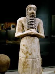 escultura mesopotamica