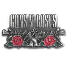 guns n roses belt buckle