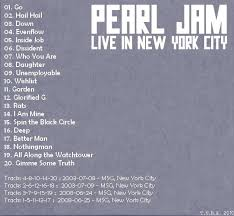 Pearl Jam - 2003-07-08: New York, NY, USA (disc 2)