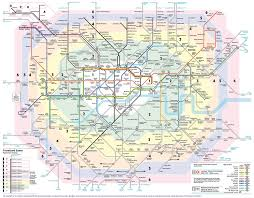 map of london train