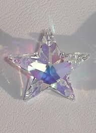 swarovski crystal star