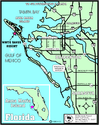 anna maria island maps