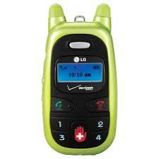 green verizon phones