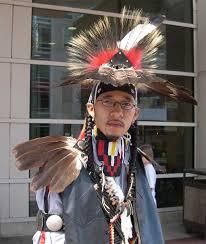 native american traditional dancer
