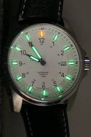 illuminated watch