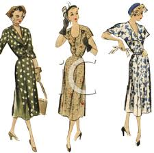 1940 fashion styles