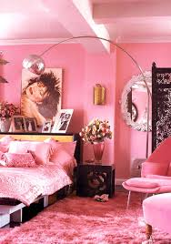 pink bed spreads