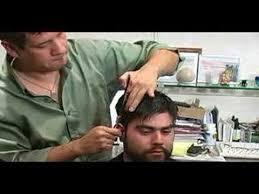 men haircutting