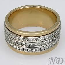 channel wedding rings