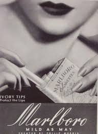 advertising cigarette
