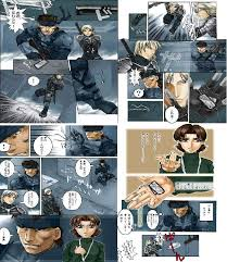 metal gear solid comic