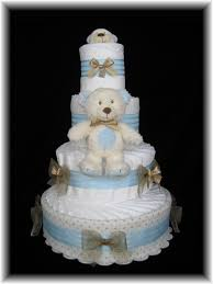 diaper cake centerpiece