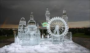 pictures of ice sculptures