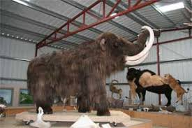 frozen mammoth found
