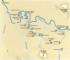inca trail maps