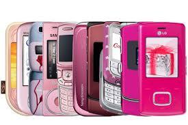 new pink phones