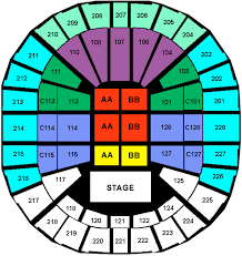 key arena concert seating chart